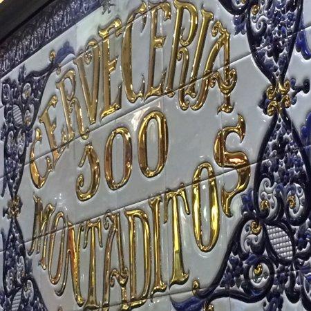 Azulejos Decorativos Photo De Cerveceria 100 Montaditos