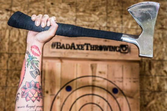 Daly City, Καλιφόρνια: Tattoos and Axes - It's how we roll!