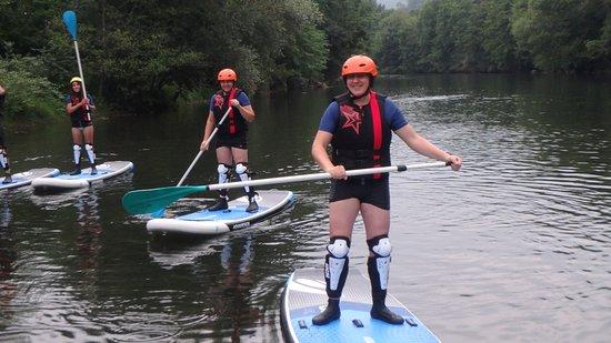 Serres-sur-Arget, Франция: STAND UP paddle