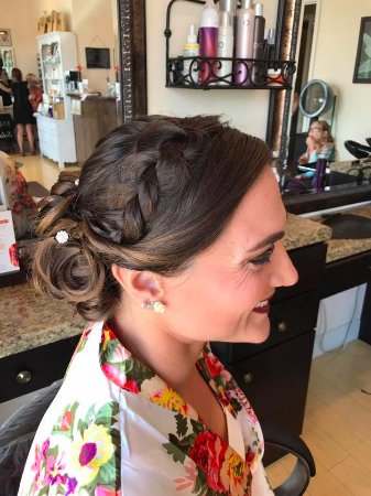Poughkeepsie, NY: Wedding day Hair and Makeup at Inner Beauty Salon and Spa