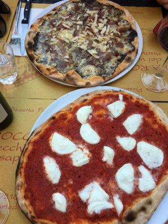 Carbonara Scrivia, Italia: Pizzas
