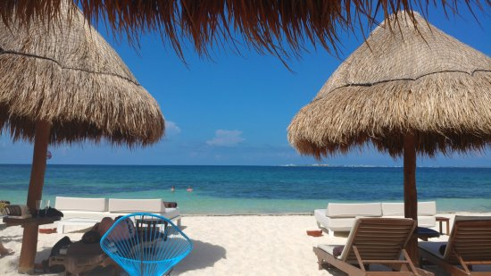 Excellence Playa Mujeres: On the beach.