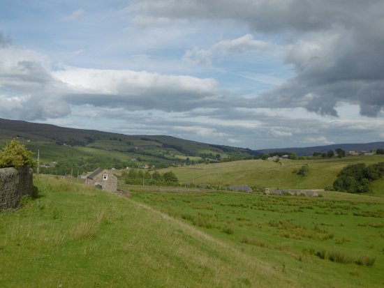 North Pennines Area of Outstanding Natural Beauty: valley view