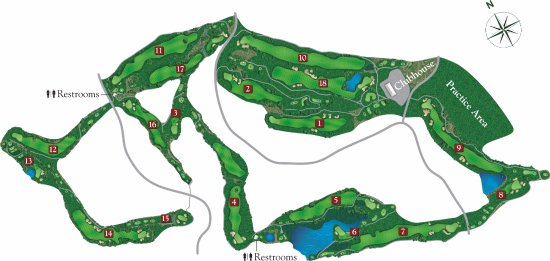 Angels Camp, CA: Course Map
