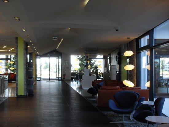 Hôtel les bains de Cabourg : le hall