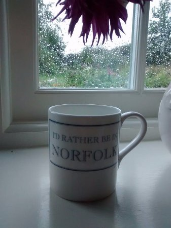 Hindringham, UK: Even in the rain we would rather be in Norfolk.