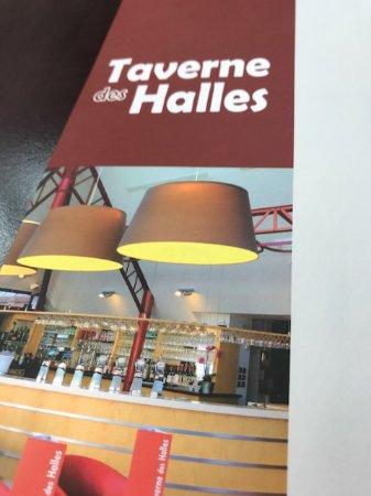 Taverne des Halles: la carta