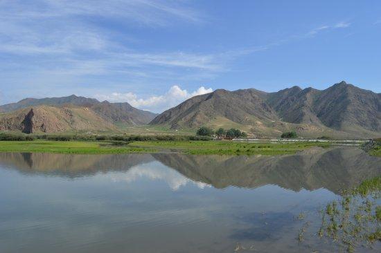 Xiahe County, Kina: Sangke grassland