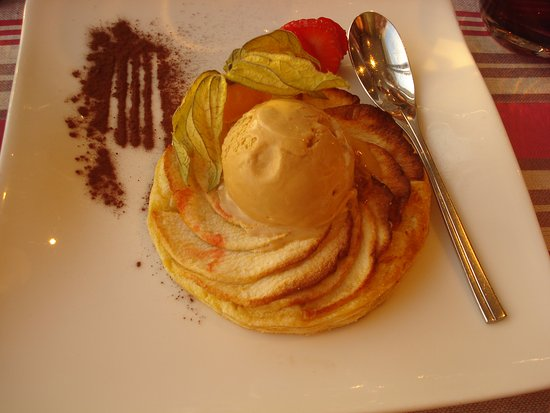 Agon-Coutainville, France: Tasty dessert!