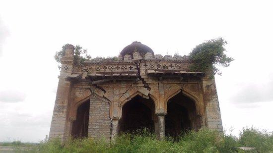 Gulbarga, Hindistan: In total ruins