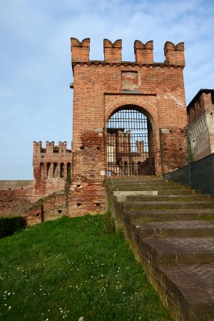 Soncino, Italien: ingresso laterale