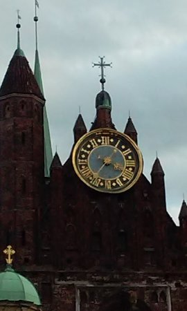 Gdansk History Museum (Muzeum Historyczne Gdanska): Detalle del relojde la torre