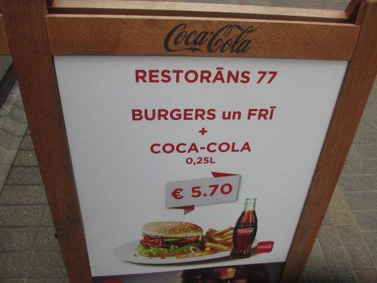 Restorans 77: реклама
