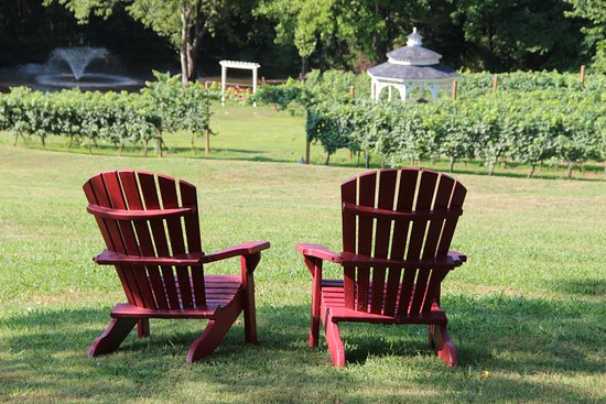 Lovingston, VA: Relax in our Adirondack chairs!