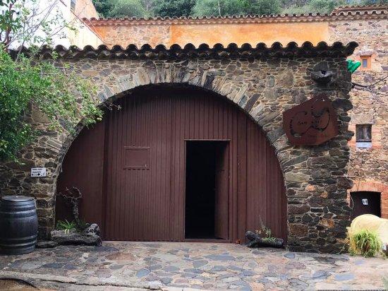 Vall-Llobrega, Spain: Enterance to the winery