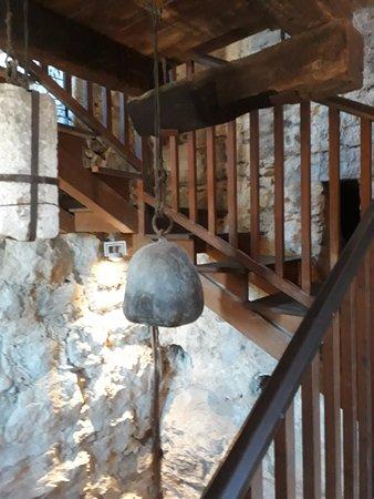 Torre Apponale: Klkketårnet. Mange trappetrinn oppover.