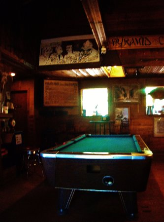 A Chalk Board On The Porch With July Events Picture Of Skyline - Pool table chalk board