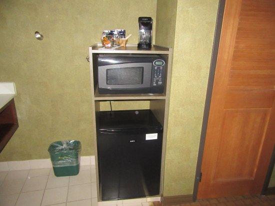 Krups Coffee maker, Microwave, Refrigerator, Best Western Plus Black Oak, Paso Robles, CA