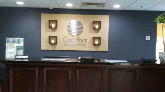 Comfort Inn & Suites: Check in lobby