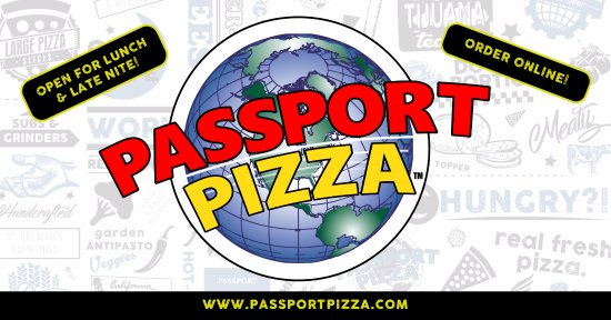 Eastpointe, MI: Passport Pizza - Lunch & Late Nite!