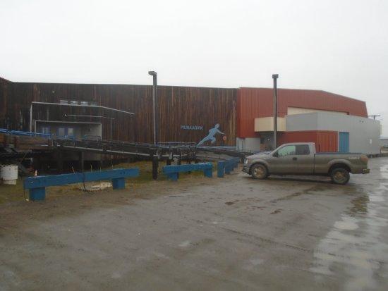 Piuraagvik Recreation Center: Building exterior - July 2017