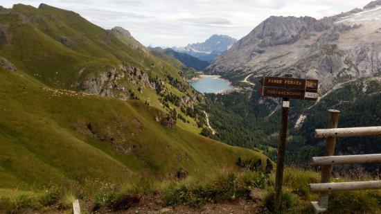 Sentiero Viel del Pan: Lago