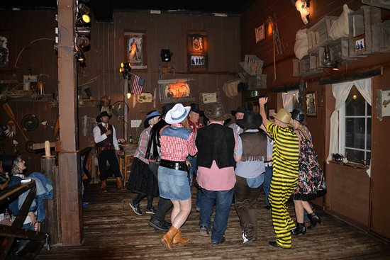 Bournonvilles Wild West: square dance
