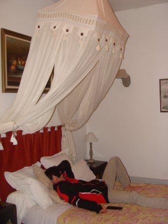 Nohant-en-Gracay, Frankreich: notre chambre