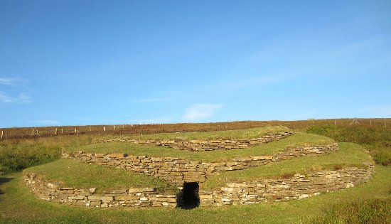 Kirkwall, UK: Wideford Hill Chambered Cairn