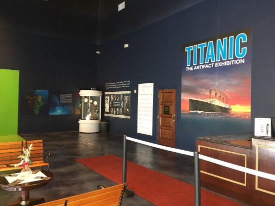 Titanic The Artifact Exhibition