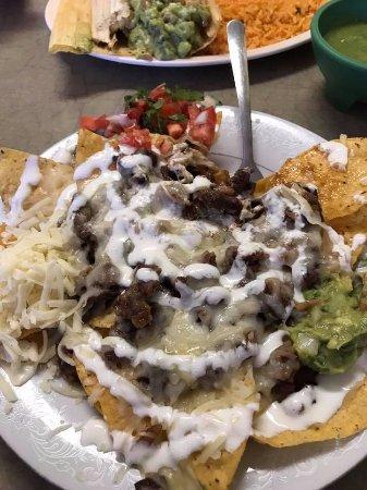 Janesville, WI: Steak Nachos at Nachos Tacos