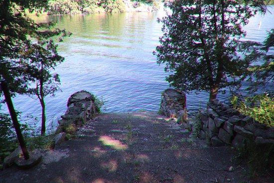 Wellesley Island, NY: The former dock