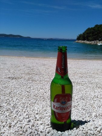 Drage, Croacia: plaża