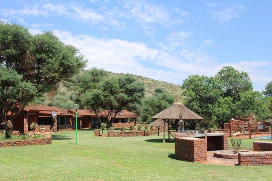 Куруман, Южная Африка: Outside Rooms 14-17