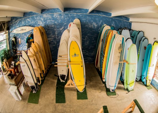 Punta de Mita, Mexico: 200+ Quality surfboards for our guests to choose from