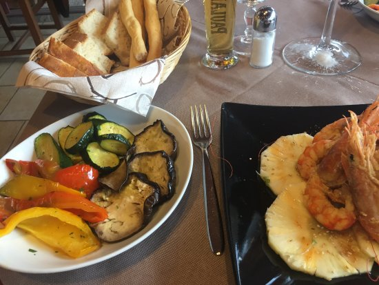 Ristorante Pizzeria Nablus: Grilled vegetable - deliciouse