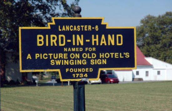Bird in Hand Antique Market: location