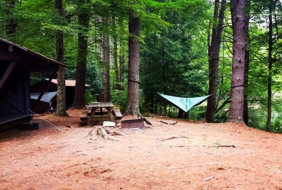 Shaftsbury, VT: Group camp site 1-6.
