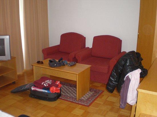 Hotel Bohinj : Camera ambia ma con arregamento modesto