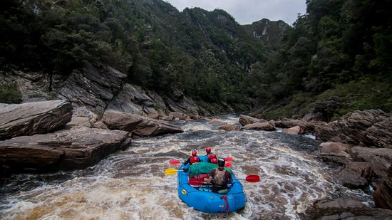 Tasmanien, Australien: the river carries you onwards