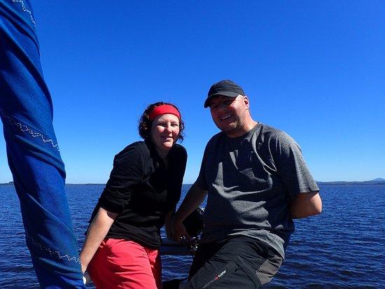 Tasmania, أستراليا: Boat ride back