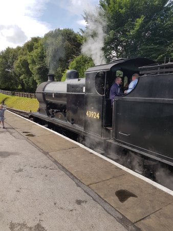 Keighley and Worth Valley Railway: 43924