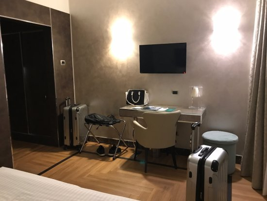 bureau bild von bianca maria palace hotel mailand tripadvisor. Black Bedroom Furniture Sets. Home Design Ideas