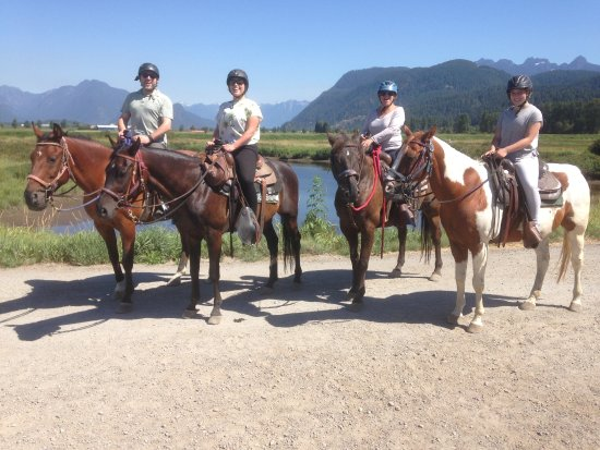 Pitt Meadows, Canadá: Leghorn Ranch family trek - a great way to explore British Columbia!