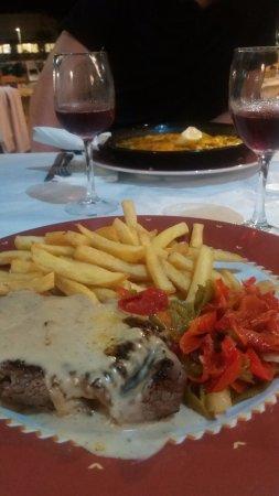 Restaurante El Pato : filetto di manzo, consiglio cottura medium