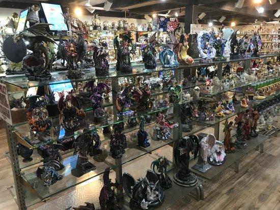 Solvang, CA: More fantasy figurines
