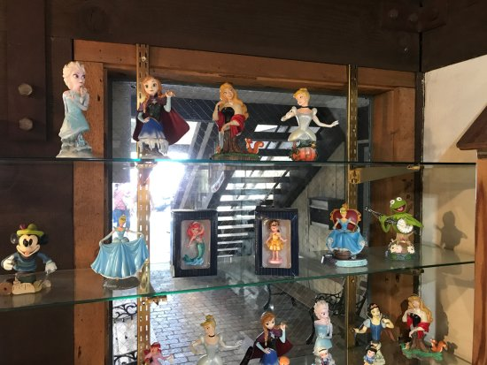 Solvang, CA: Disney figurines