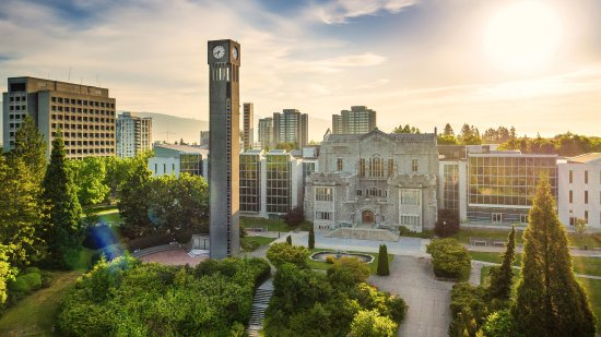 ‪University of British Columbia‬
