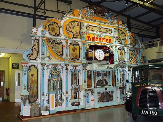Grampian Transport Museum: Ti Mortier Organ