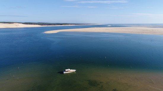 Croisière Coucher De Soleil Banc Darguin Bassin Darcachon